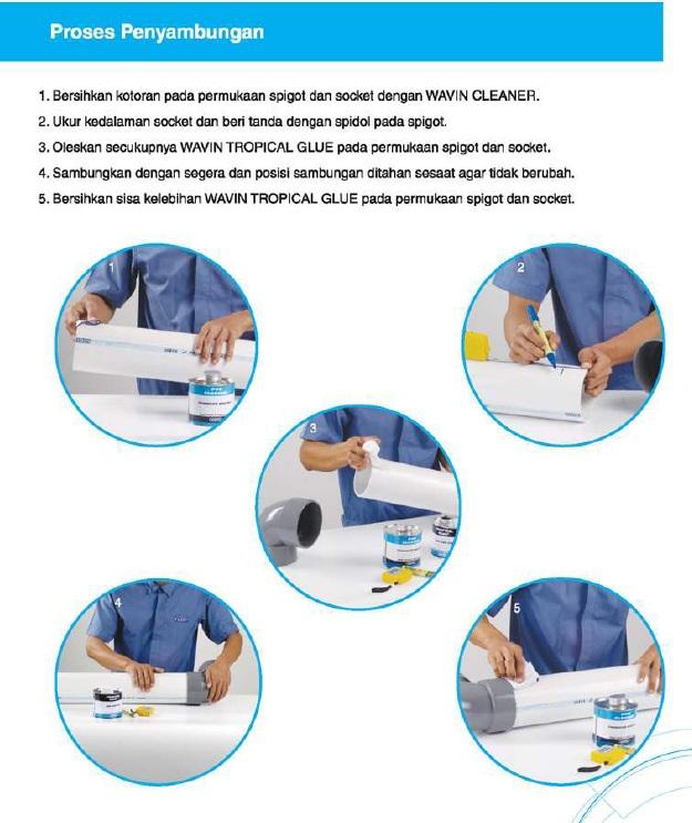 Cara menyambung pipa PVC